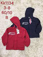 Куртка для мальчиков оптом, S&D, 3-8 лет,  № KK-1134