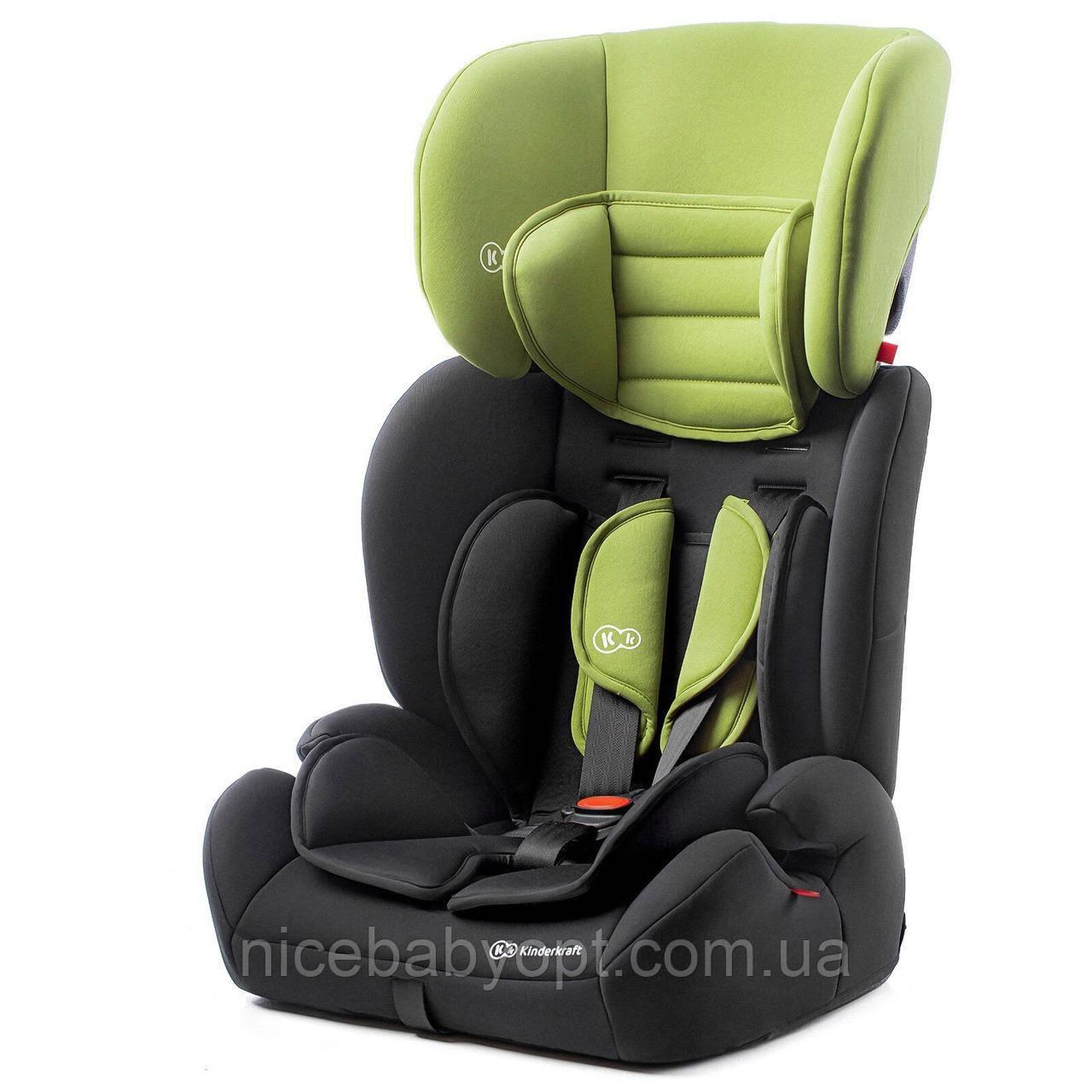Автокрісло Kinderkraft Green Concept 9 до 36 кг.