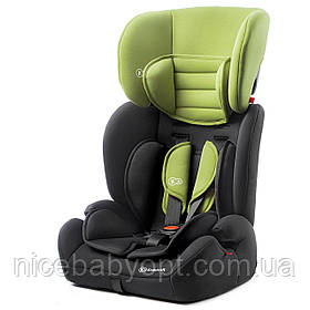 Автокресло Kinderkraft Concept Green  9 до 36 кг.
