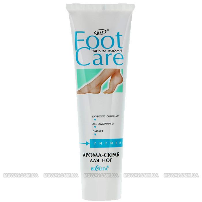BIELITA Foot Care - Арома-скраб для ног 100мл