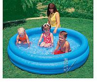 Детский надувной бассейн «Синий кристалл» Intex 58426 (147*33 см)