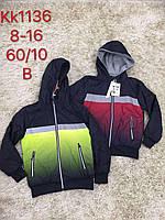 Куртка для мальчиков со светоотражающими элиментами оптом, S&D, 8-16 лет,  № KK-1136