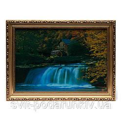 Картины с водопадом №1 50*30 (5 мод)