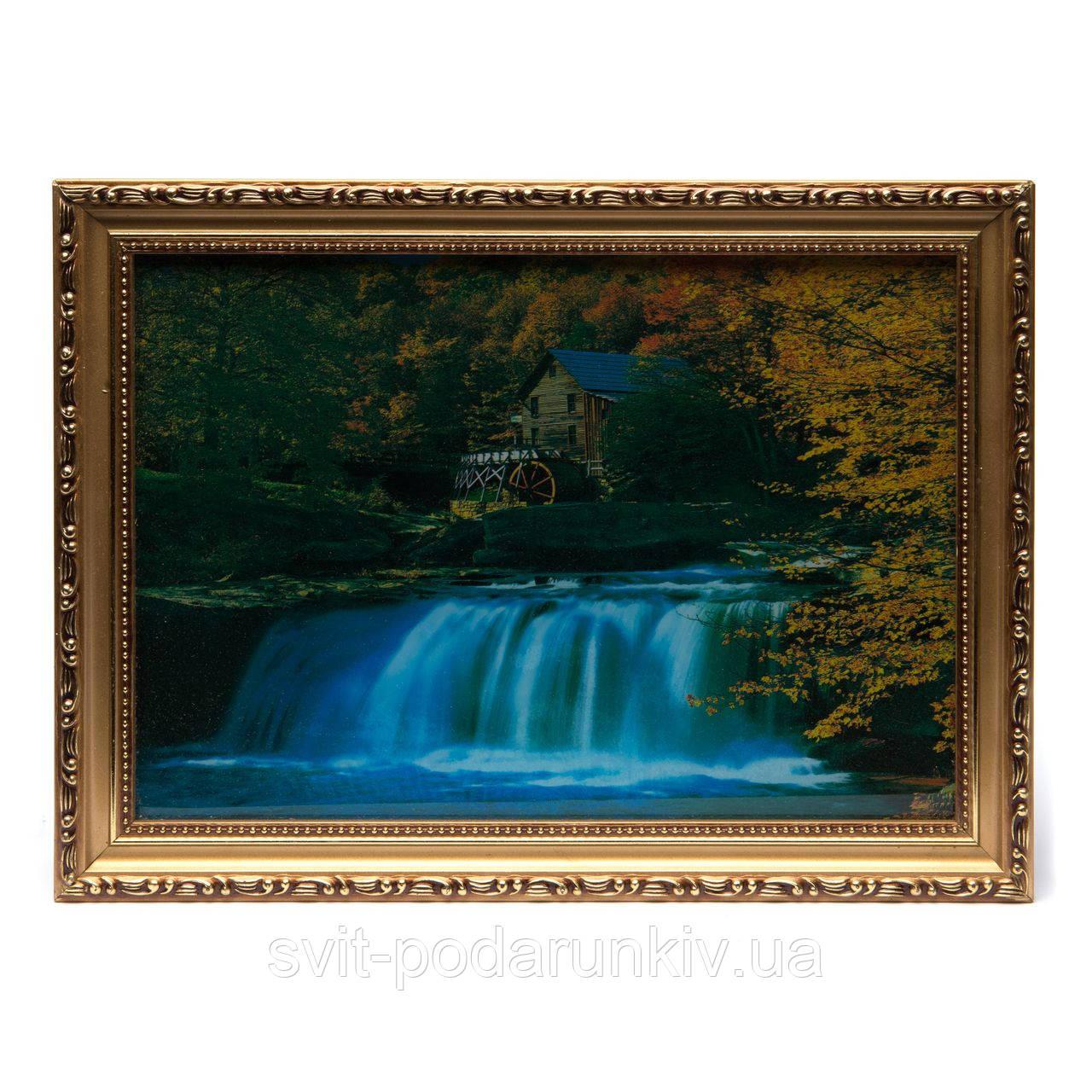 картины с водопадом