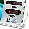 Настенные электронные часы в виде картины с водопадом №2, фото 3