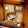 """Ключница для рыбака с рыбой """"Желаем хорошего улова"""" 05SD233A, фото 3"""