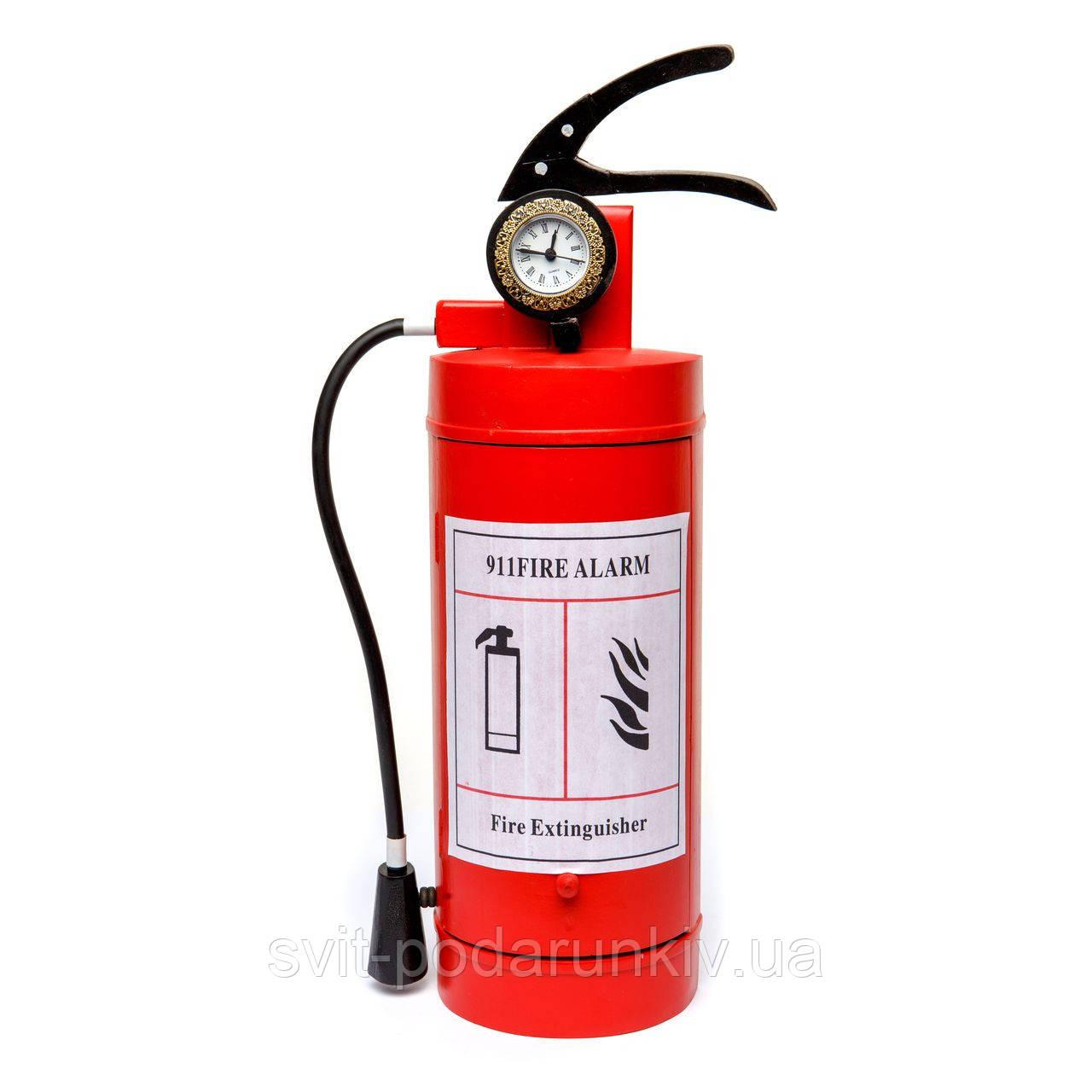 """Оригинальная ключница огнетушитель """"Самому бесстрашному пожарнику подарок"""" S41714"""