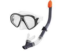 Набор для плавания 2в1 Intex 55648 ( маска и трубка )