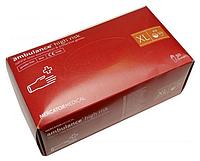 Перчатки синие Аmbulance High Risk латексные неопудренные прочные XL RD10178005