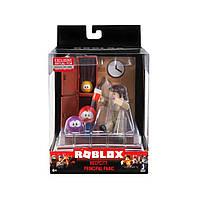 Ігрова колекційна фігурка Roblox Desktop Series Meep City: Principal Panic W6