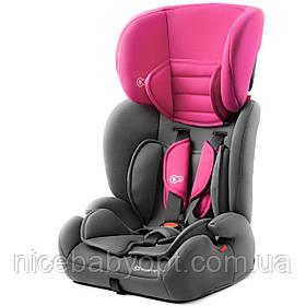 Автокрісло Kinderkraft Concept Pink 9 до 36 кг.