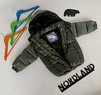 Демисезонная курточка 80-86