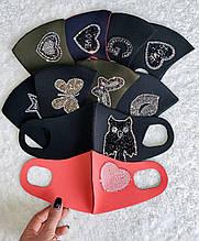 Маска защитная ,дизайнерская ,маска Питта
