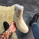 Женские ботинки Puma By Rihanna Chelsea Vanila, женские ботинки пума риана челси, фото 2