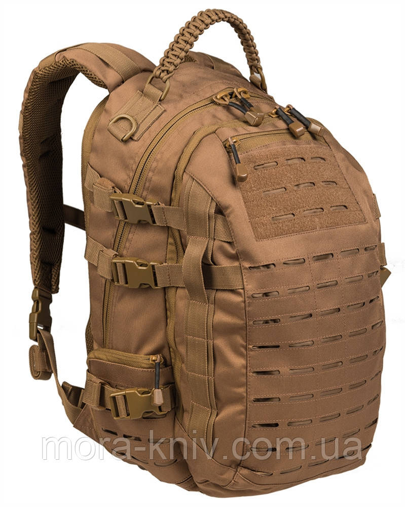 Рюкзак Mil-Tec тактический Mission Pack Laser Cut, 25 л.(Dark Coyote) 14046119