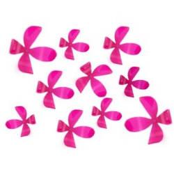 "Декор для стен ""Flower"" набор из 25 шт розового цвета"