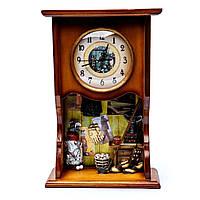 """Часы настенные деревянные с маятником """"Шеф повар"""" 522271"""