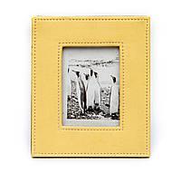 Рамка с фотографиями из кожи прессованной яркая разноцветная S05