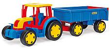Трактор гигант с прицепом Wader 66100, фото 2