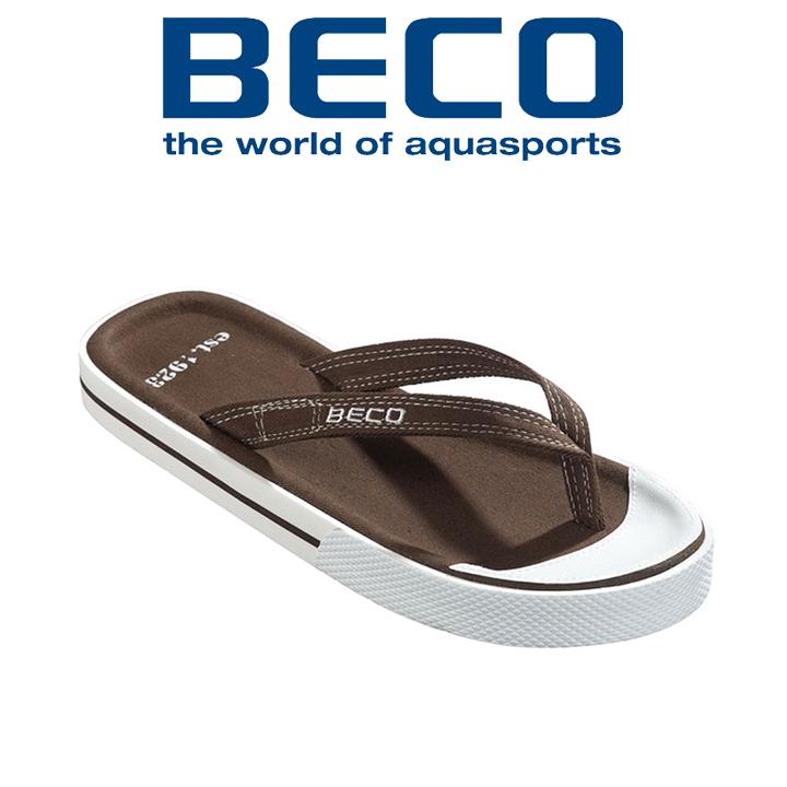 Вьетнамки мужские BECO  90614 9 коричневые