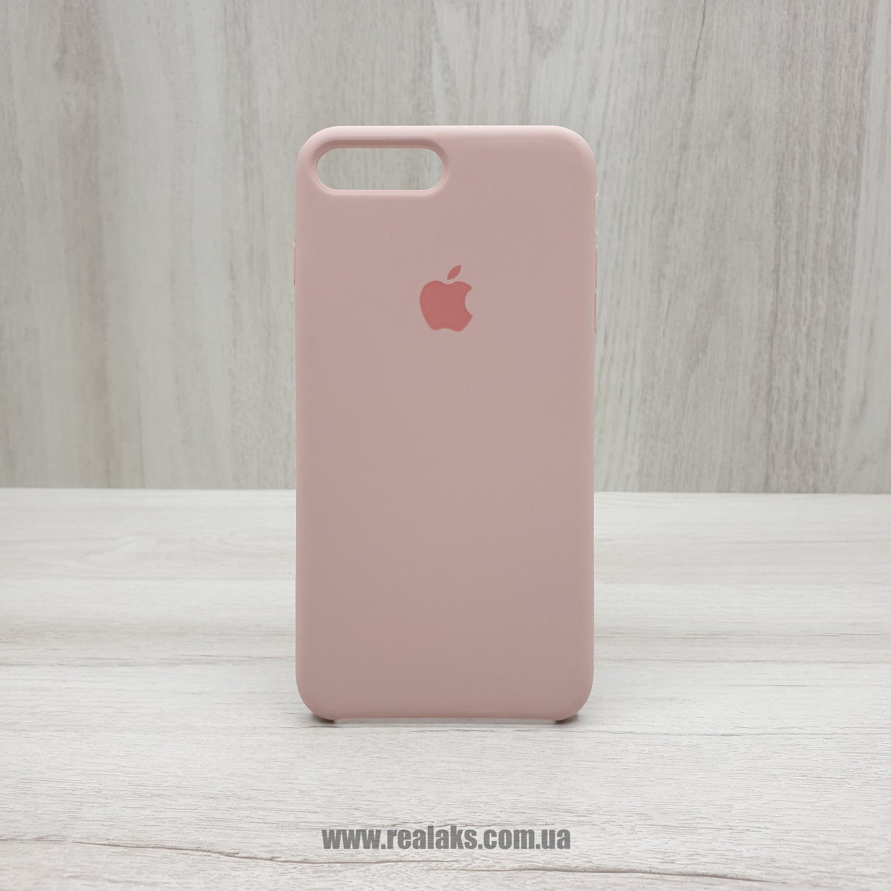 Чехол Silicone Case для Apple iPhone 7/8 Plus pink sand