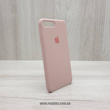 Чехол Silicone Case для Apple iPhone 7/8 Plus pink sand, фото 3