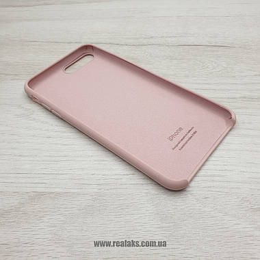 Чехол Silicone Case для Apple iPhone 7/8 Plus pink sand, фото 2