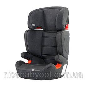 Автокрісло Kinderkraft Junior Fix Black 15-36 кг (група 2-3)