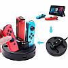 Зарядний пристрій для Nintendo Switch Joy-Con та Pro Controller, фото 4