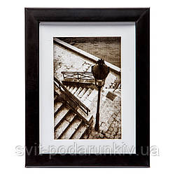 Ретро картина с фотографией 18*23 B-77-34 (черный)
