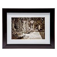 Картина для гостиной в ретро стиле 18*23 B-77-35 (черный, белый)