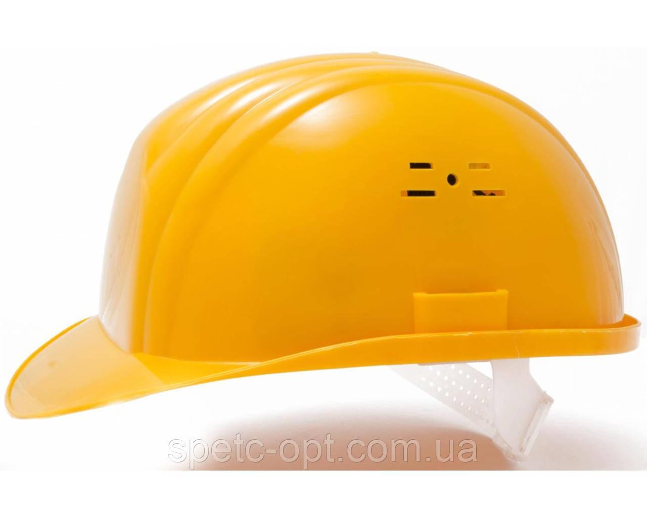 Каска строительная (желтая). Каска защитная.