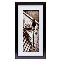 Картина в подарок в стиле ретро 23*43 B-80-09 (черный, белый)
