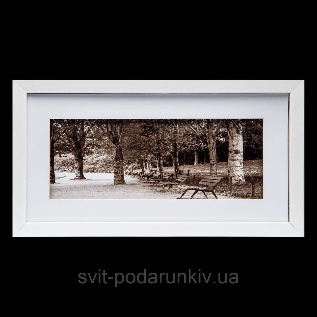 Картина подарок для подруги в ретро стиле  23*43 B-80-10 (белый)