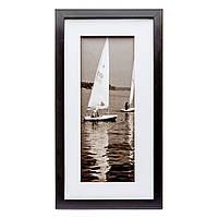 Подарочная черно-белая картина в ретро стиле 23*43 B-80-11 (черный)