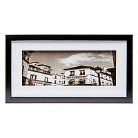 Картина черно-белая в стиле ретро 23*43 B-80-22 (белый)