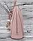 Вместительный женский рюкзак David Jones, пудровый городской / жіночий рюкзак рожевий, фото 2