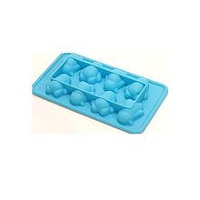 Силиконовая форма для льда Bona Penguins с усилителем 20х11х3см Голубой BD-550-147psg, КОД: 186706