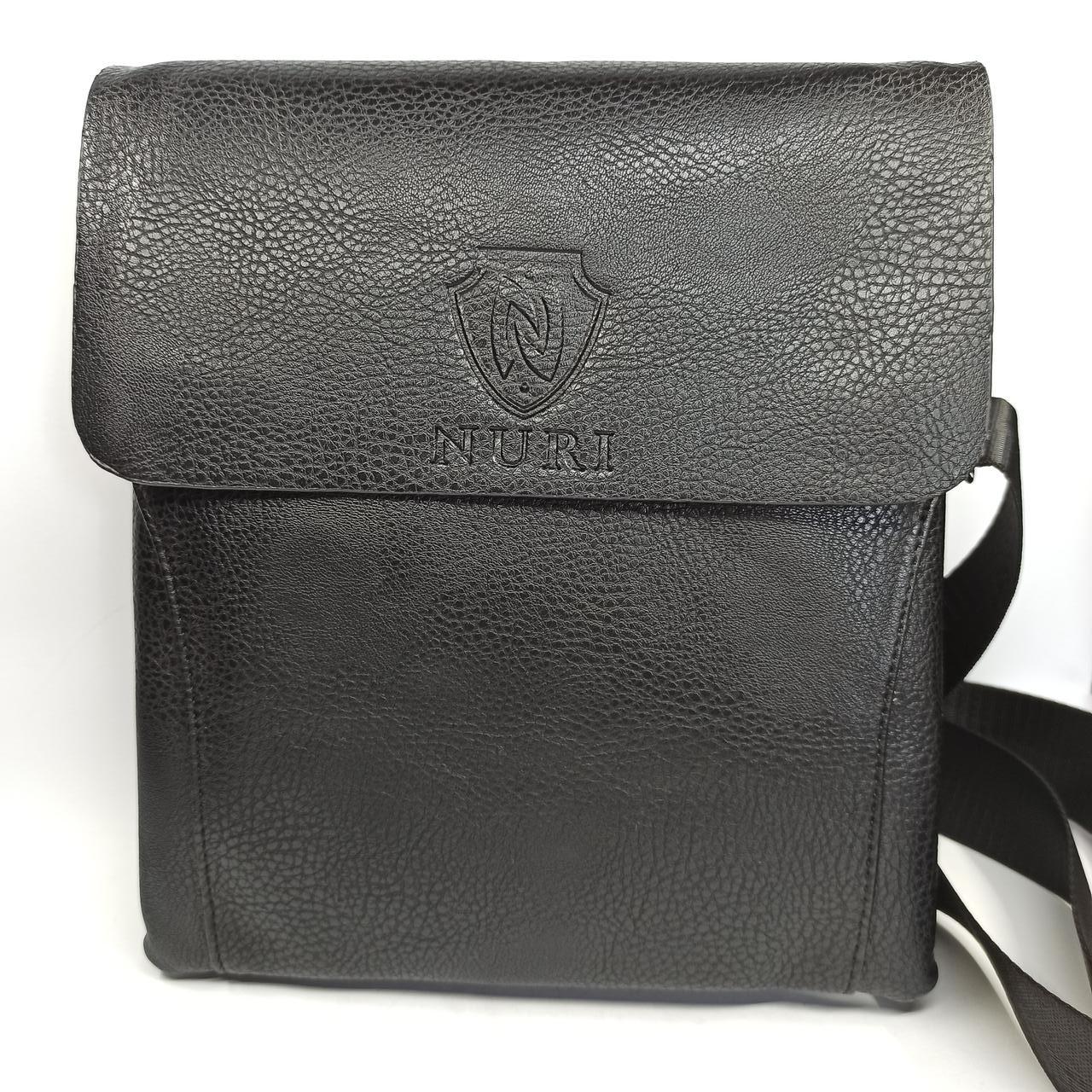 Шкіряна чоловіча сумка через плече / Мужская кожаная сумка через плечо PUB001
