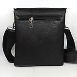 Шкіряна чоловіча сумка через плече / Мужская кожаная сумка через плечо PUB001, фото 4