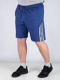 Шорты мужские трикотажные SPORT размер М. Шорты с лампасом, фото 3