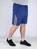 Шорты мужские трикотажные SPORT размер М. Шорты с лампасом, фото 5