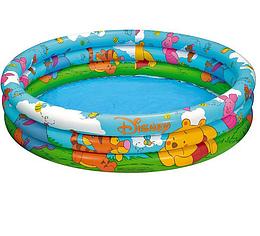 Надувной бассейн Рыбки.Бассейны надувные круглые.Бассейны надувные Интекс.