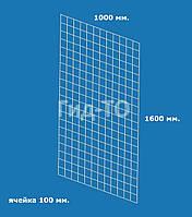 Сетка торговая (1600х1000) ячейка 100 мм., фото 1