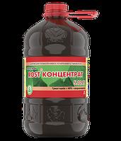 Органо-минеральное удобрение Rost (Рост) концентрат калийное NPK 5.10.15, 4 л, Украина