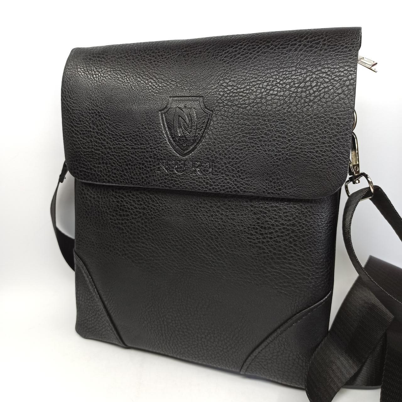 Шкіряна чоловіча сумка через плече / Мужская кожаная сумка через плечо PUB002