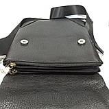 Шкіряна чоловіча сумка через плече / Мужская кожаная сумка через плечо PUB002, фото 5