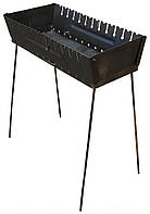 Мангал-чемодан на 12 шампуров, фото 1