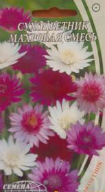 """Семена цветов Сухоцветник махровая смесь,  однолетние , 0,3г """" Семена Украины"""",  Украина"""