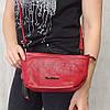 Сумочка красная из натуральной кожи Tony Bellucci 0-366, фото 2
